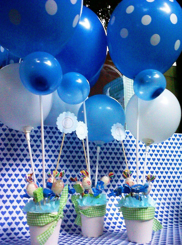Centro de mesa 1 143 1 540 p xeles arreglos - Centros de mesa con globos ...