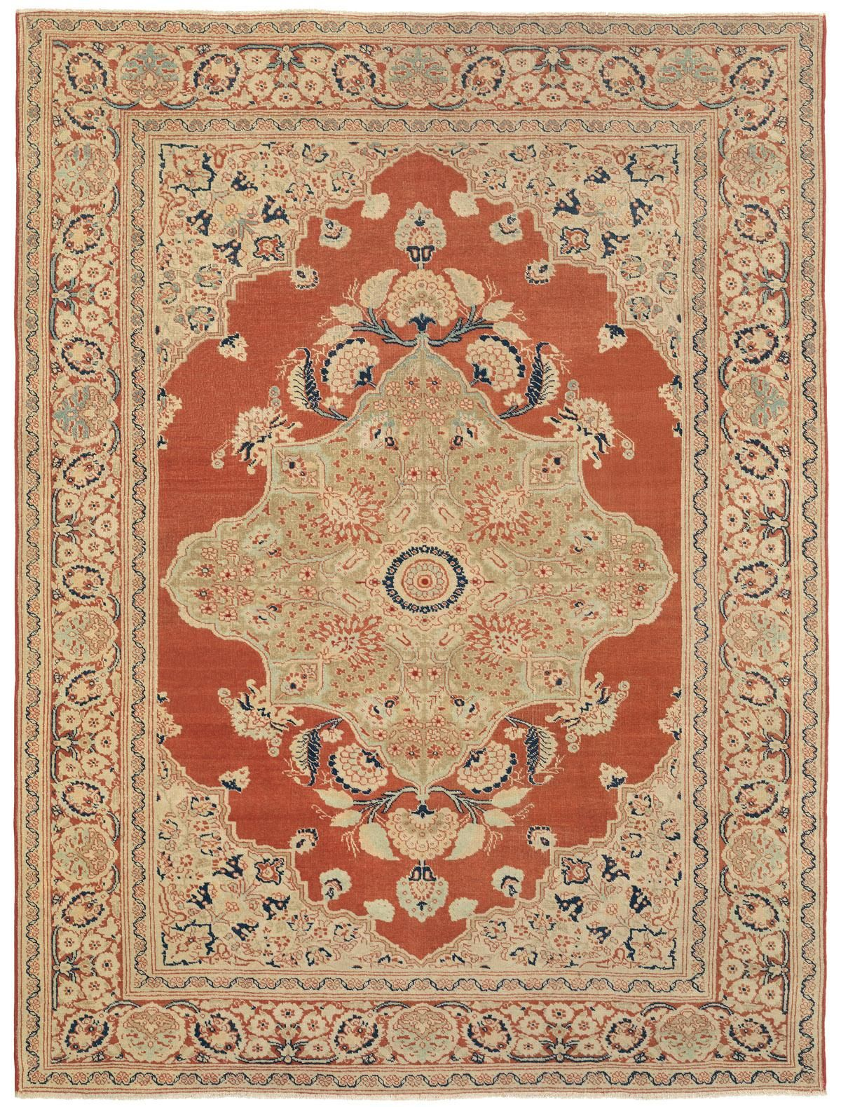 Antique Rug From The Hadji Jallili Workshop Persian Rug Designs Vintage Persian Rug Claremont Rug Company