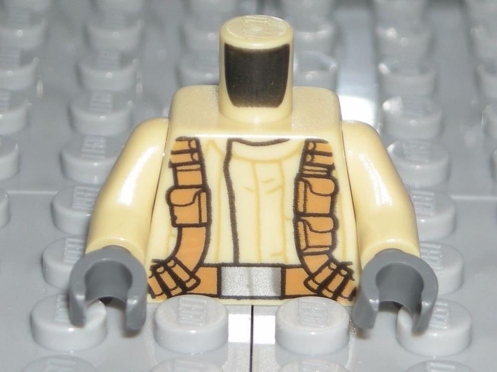 LEGO STAR WARS Tan Torso Belts Resistance Army Military Trooper Minifigure 75131 #LEGO