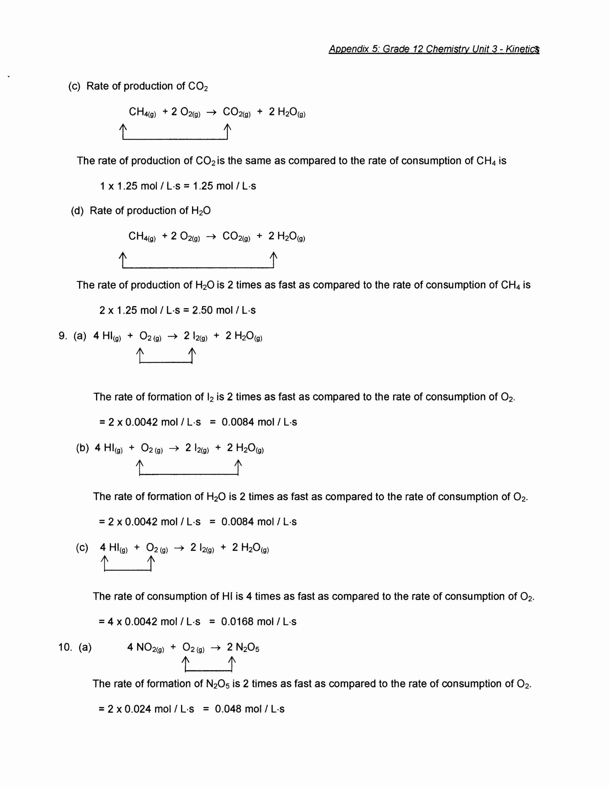 Neutralization Reactions Worksheet