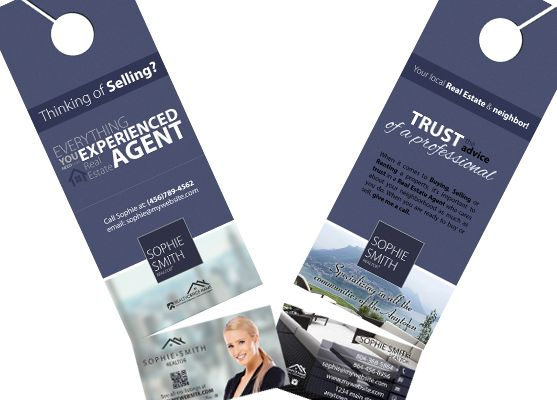 Real estate door hanger rip cards template 09 hanger business 2 in 1 door hangers with business cards real estate door hanger rip colourmoves