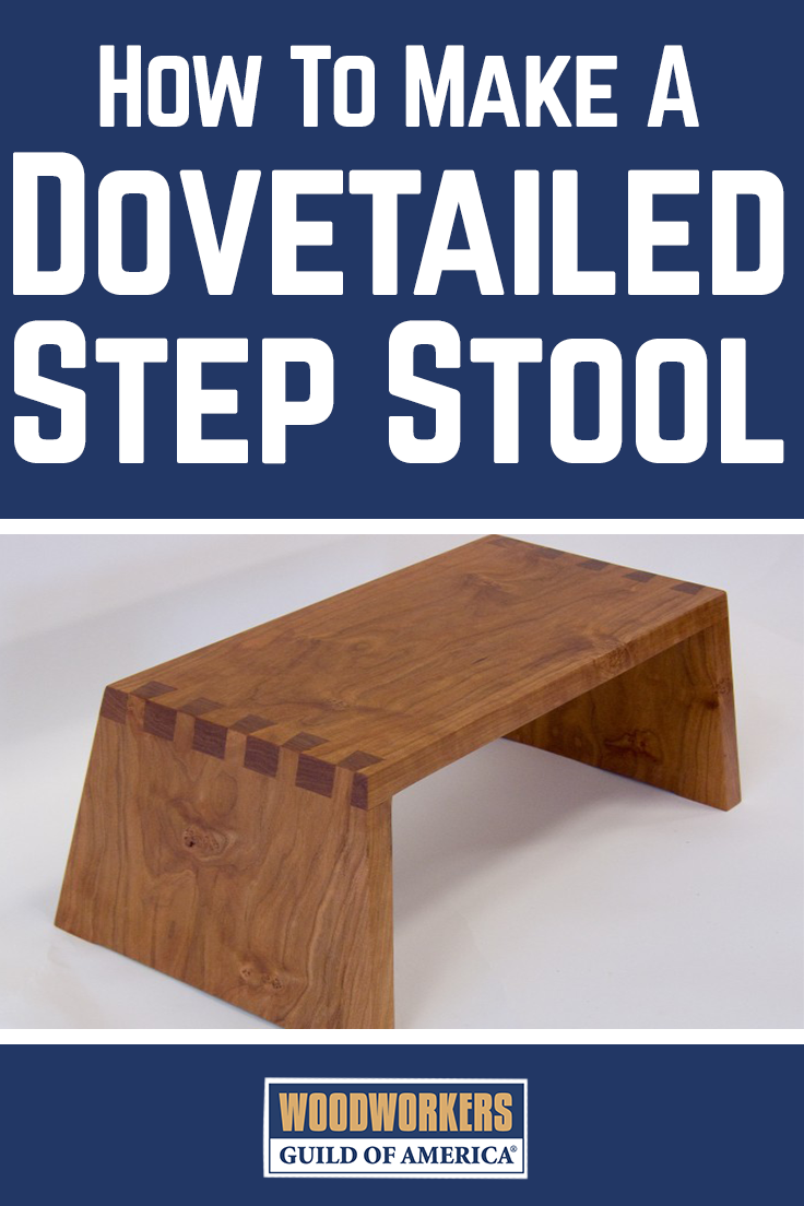Enjoyable Make A Beautiful Dovetail Wooden Step Stool Woodworking Evergreenethics Interior Chair Design Evergreenethicsorg