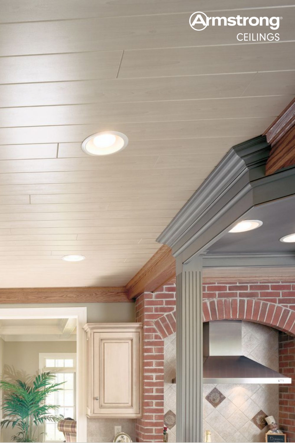 Stunning White Wash Woodhaven Ceiling Planks In 2020 Armstrong Ceiling Woodhaven Ceiling