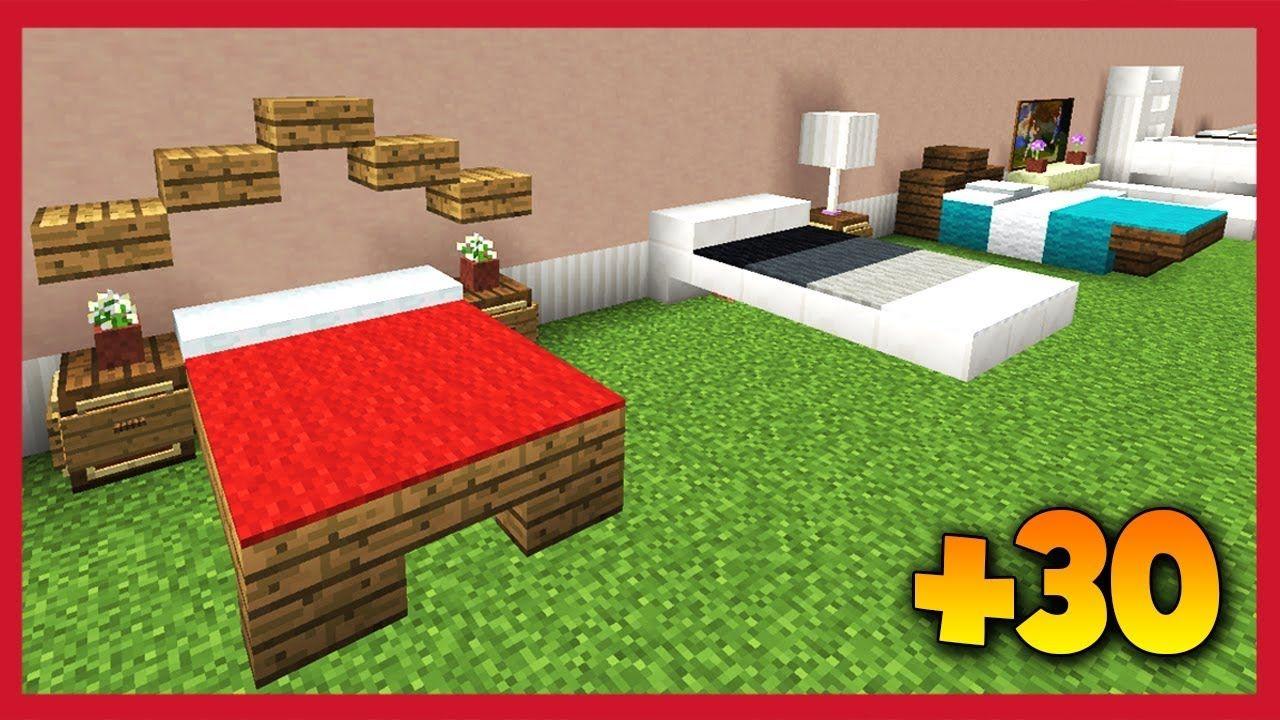Minecraft: 30 Tipi Di Letto - YouTube | Minecraft castle ...