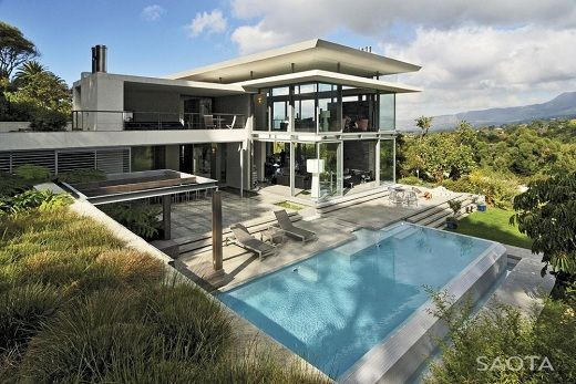 Casa De Lujo Con Piscina De Saota Saota Arquitectura Casa De
