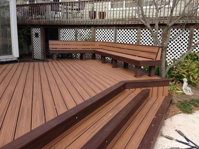 Trex Deck Design Ideas trex transcend deck boards in lava rock can help you achieve a bold and sophisticated outdoor Trex Enhance Spiced Tiki Torch Google Search Trex Deckingpool Ideaspatio Ideasdeck Designfront
