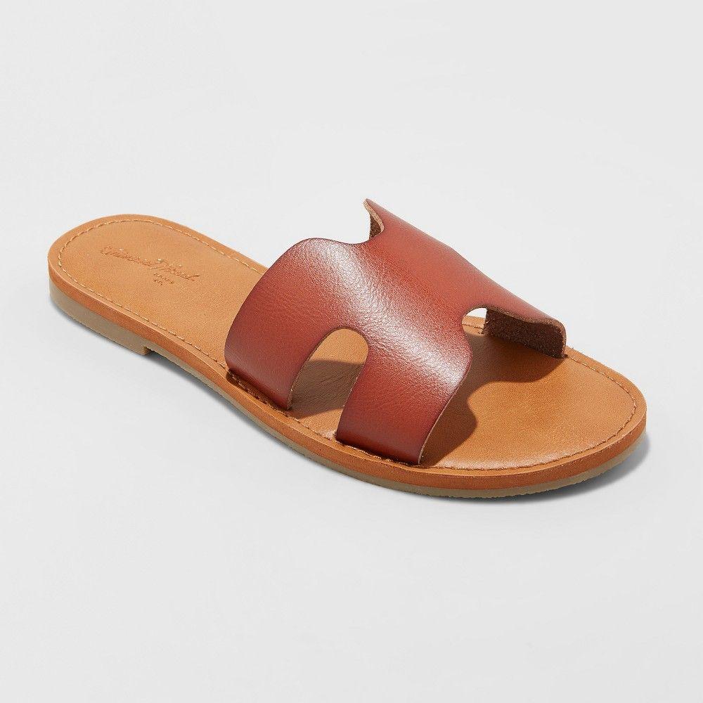 Women's Jenny Wide Width Slide Sandals Universal Thread