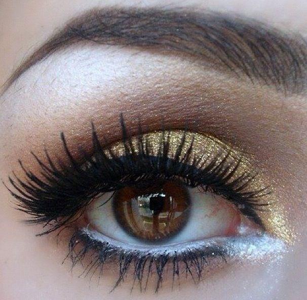 #beautiful #brown #eyes #makeup