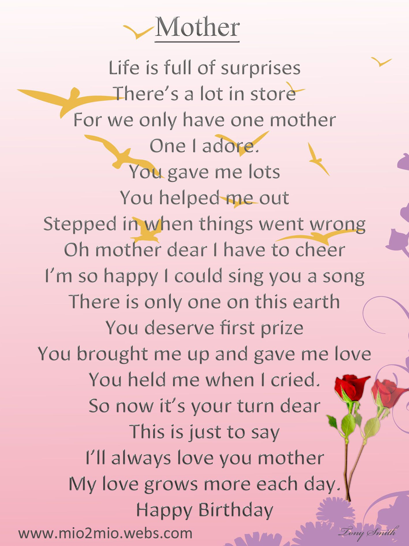 Mother S Birthday Card Quotes And Something Else Pinterest