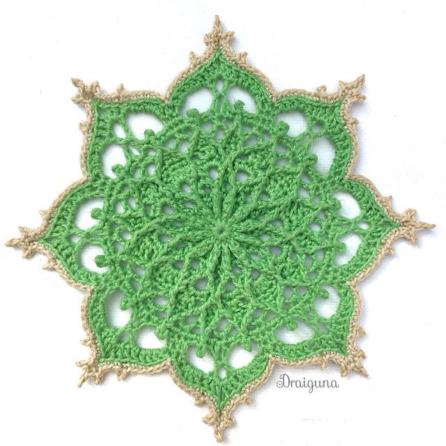 Draiguna Wispweave Octagon in 2020 Crochet snowflake
