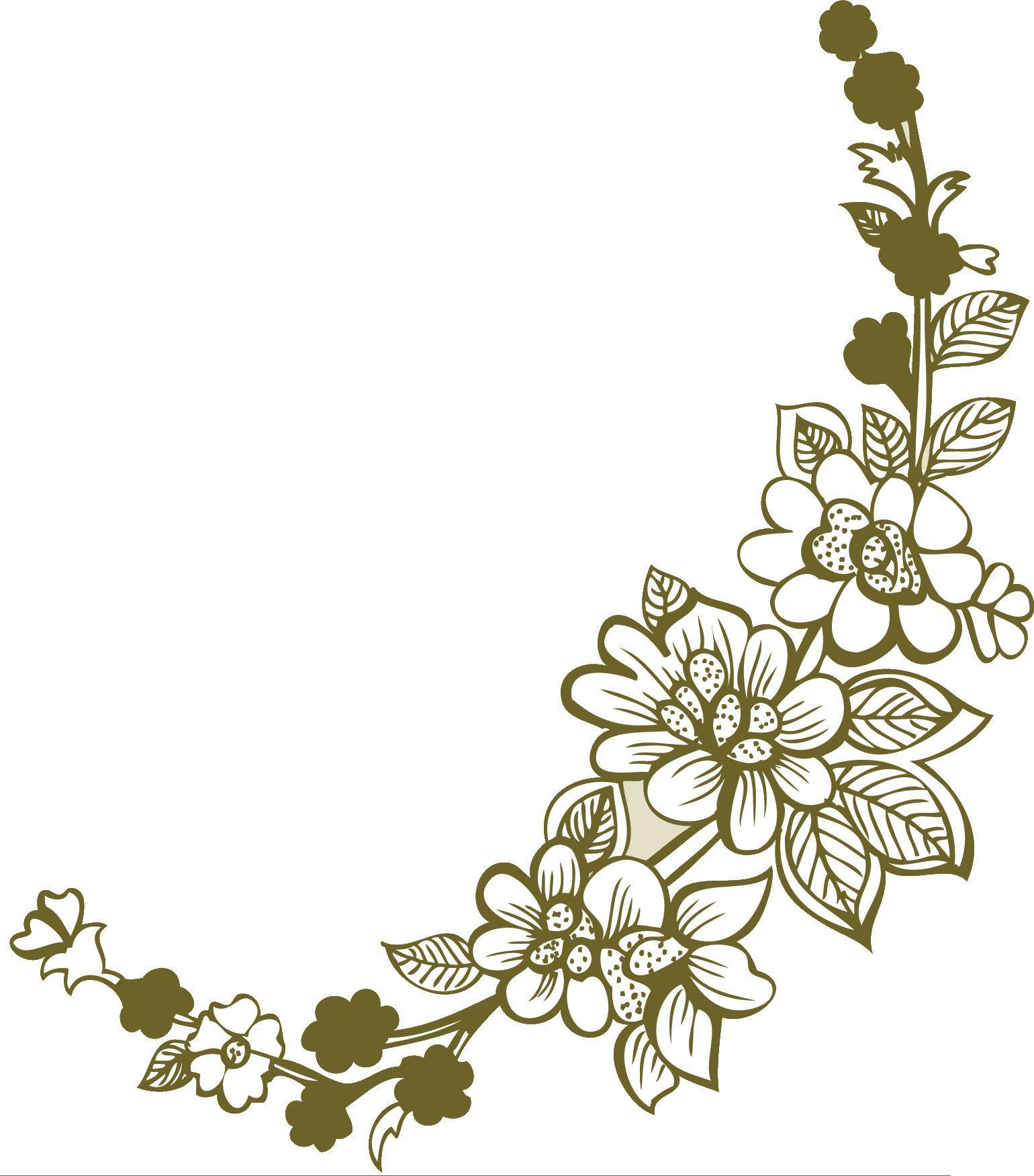 花のイラストフリー素材白黒モノクロno094切り絵風 花 イラスト 花 イラスト 無料 切り絵