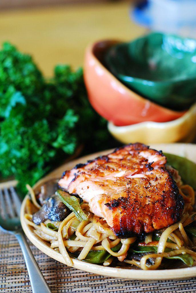 Que tal  emagrecer  comendo  salmão?