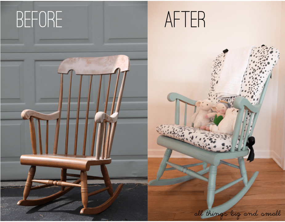DIY Upholstered Rocking Chair | crafty | Pinterest | Rocking Chair