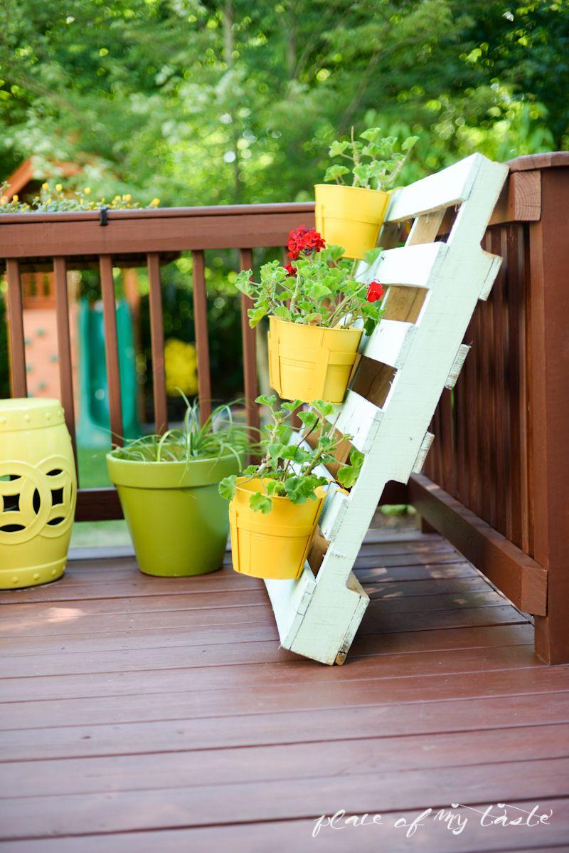 5 diy hechos con palets para decorar tu jardín | Diy pallet ...