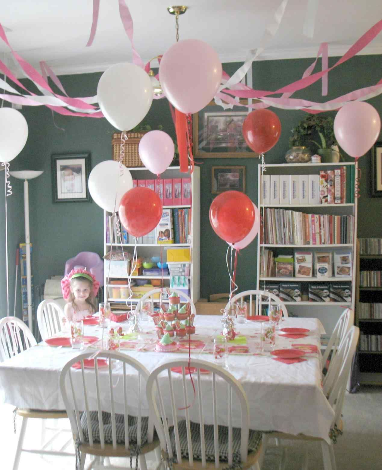 New post simple birthday decorations at home for girls has been