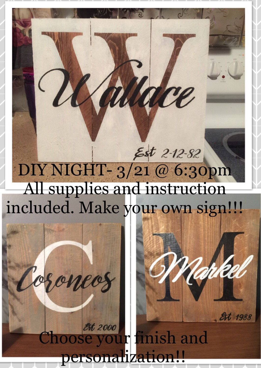 A personal favorite from my Etsy shop https://www.etsy.com/listing/513155417/diy-night-32117-make-your-own-sign-all