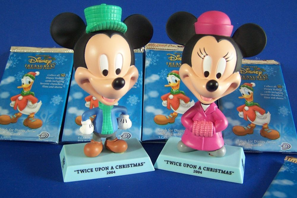Mickey Mouse Twice Upon A Christmas.Mickey Minnie Mouse Holiday Disney Treasures Twice Upon A