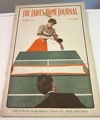 The Ladies Home Journal October 1902 Vintage Fashion Magazine   eBay