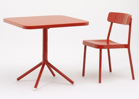 Samuel Wilkinson designs Grace collection of aluminium furniture ...