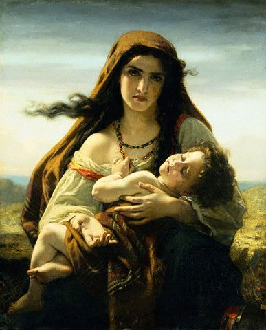 Hugues Merle Mother And Child Mother And Child Art Madonna