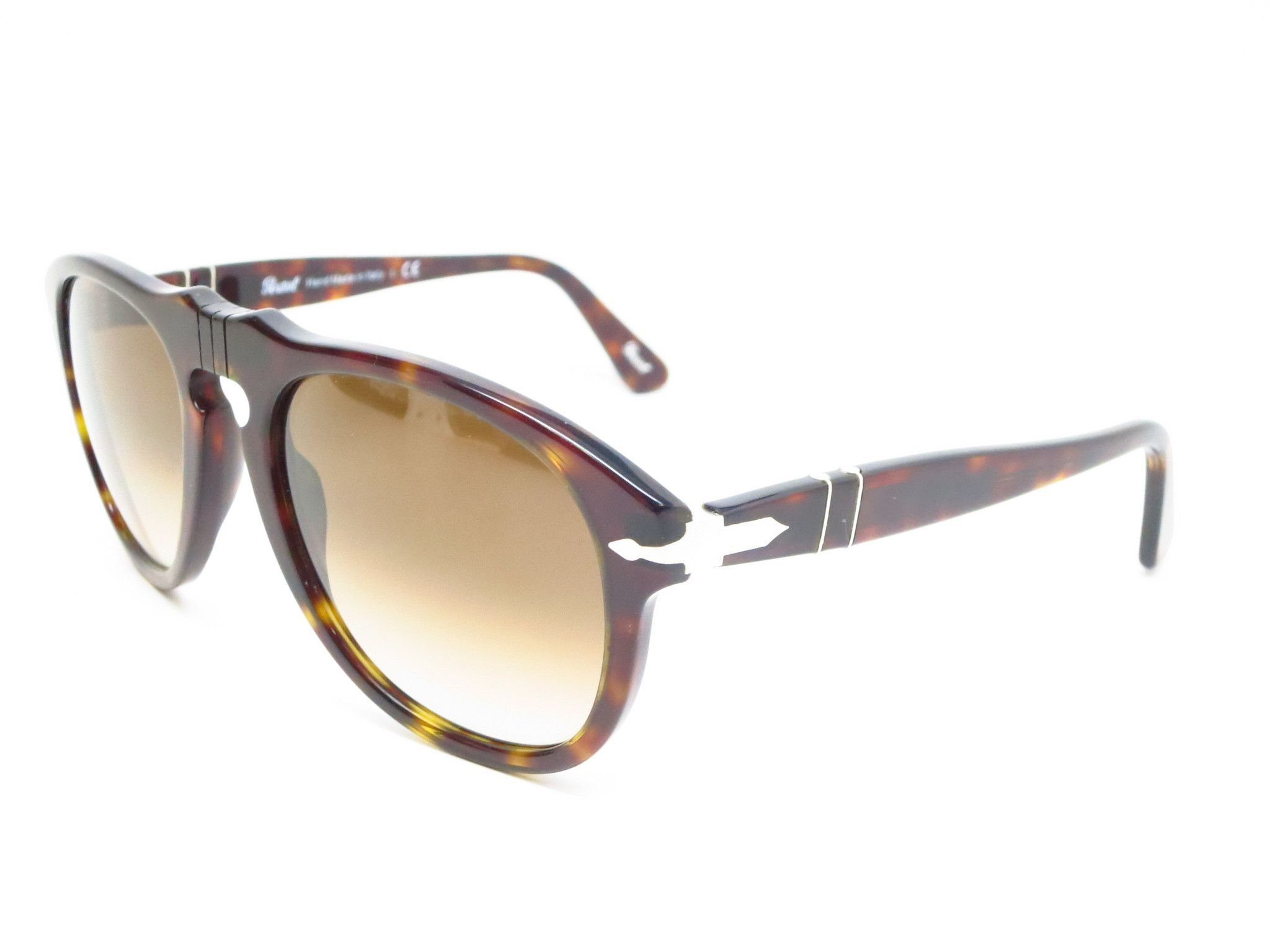 bc2ffe89c991 Persol PO 649-S Product Details Brand Name : Persol Model Number : PO 649-S  - Color Code : 24/51 Frame Color : Havana Lens Color : Brown Gradient  Polarized ...
