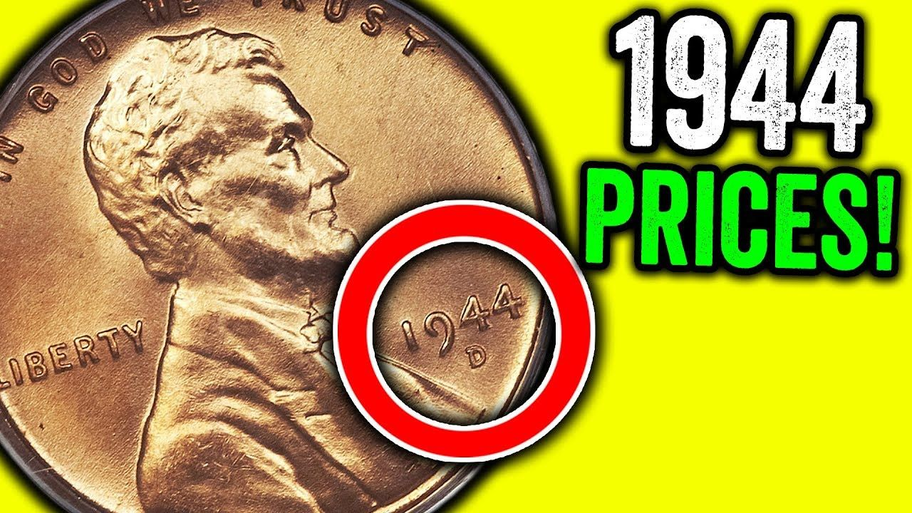 1944 Wheat Pennies Worth Money Rare Valuable Coins To Look For Youtube Wheat Pennies Coins Valuable Coins