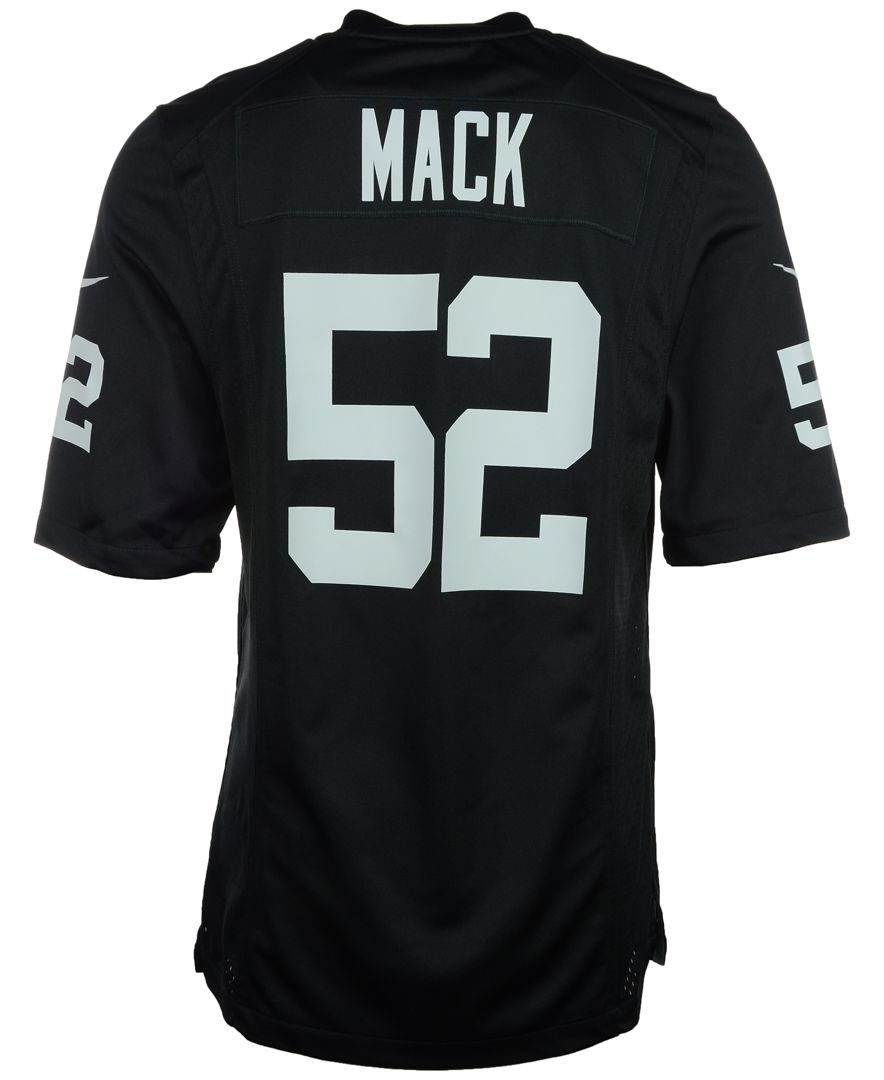 sale retailer 7387f 46450 Men's Khalil Mack Oakland Raiders Game Jersey | FOREVER ...
