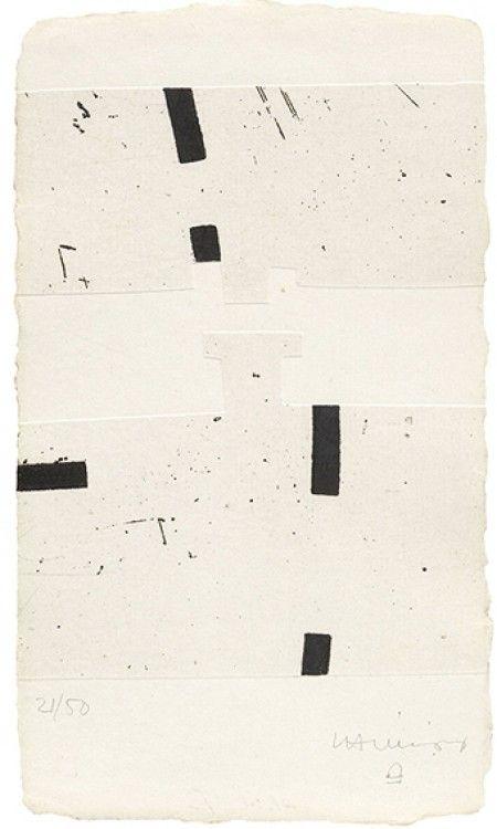 Eduardo Chillida / argi I, 1988