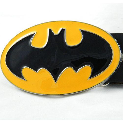 Superman Red//Yellow 3D Logo DC Comics Metal Fashion Belt Buckle