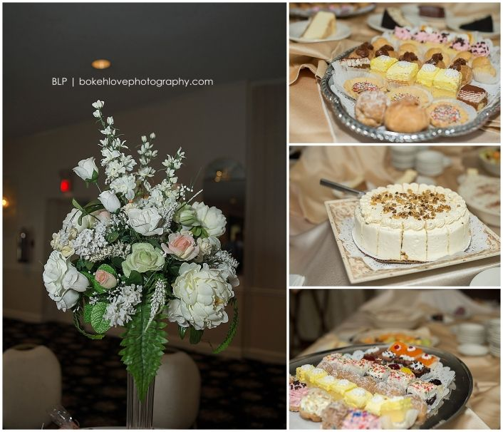 Bokeh Flowers Wedding: Flower Centerpieces, Crystals