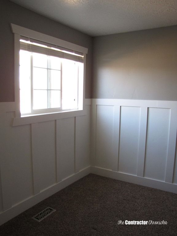 How To Install Board And Batten Wainscoting Styles Wainscoting Height Wainscoting