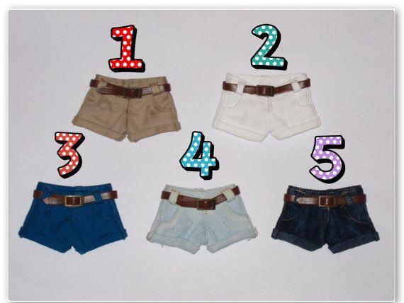 Blythe Demin Shorts by MoonLoveLover on Etsy