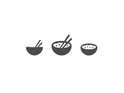 Rice Bowl Rice Bowls Logo Restaurant Korean Logo