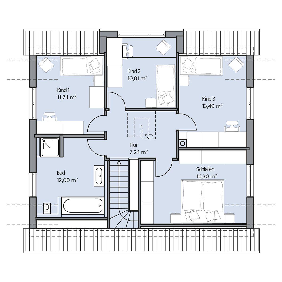 Haus Ulrich – Dachgeschoss | Häuser | Pinterest | Dachgeschosse ...