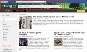Bing souhaite devenir le moteur de recherche dont vous avez besoin sur Facebook. Il sera bientôt possible de se créer son propre journal (sur) Facebook !