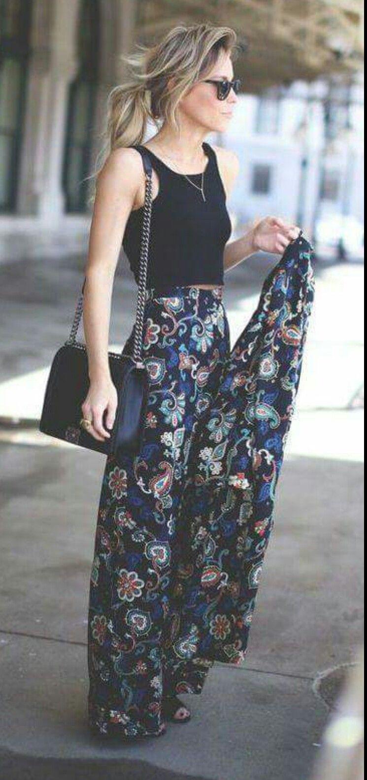 Outfit Con Pantalon Muy Holgado Fashion Stylish Fall Outfits Style