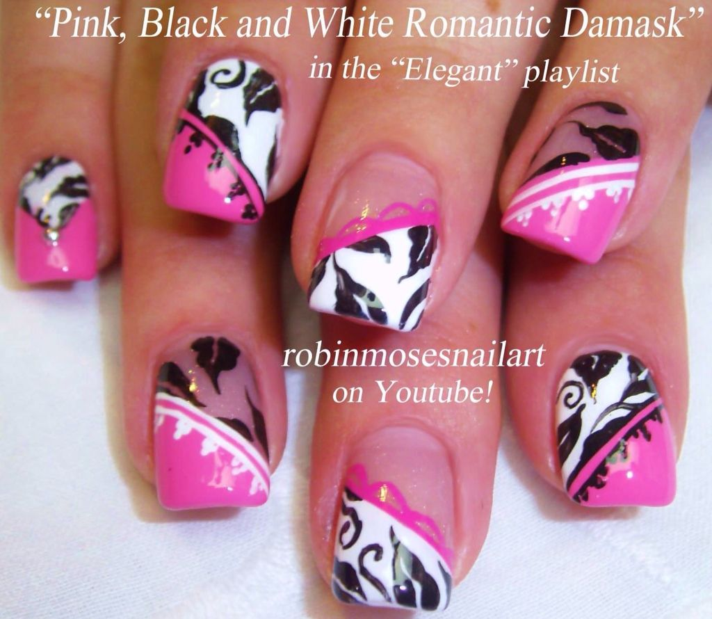 Robin Moses Nails on YouTube | A- Nail Art | Pinterest | Robin moses ...
