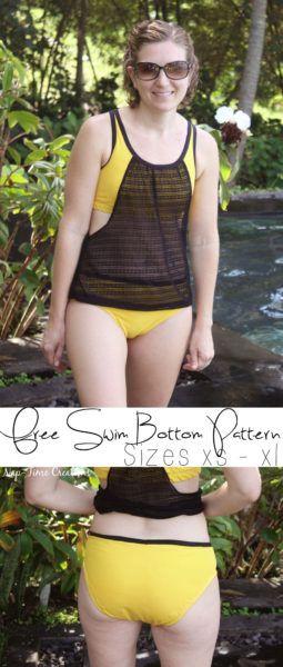 Womens Swim Bottoms Free Pattern
