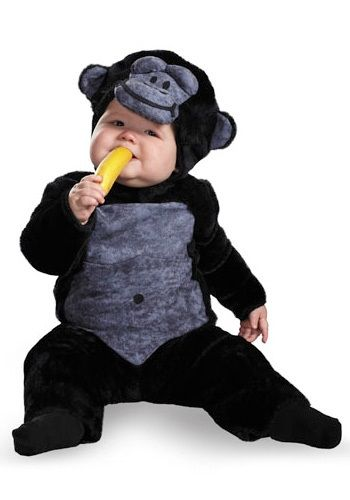 infants gorilla halloween costumes