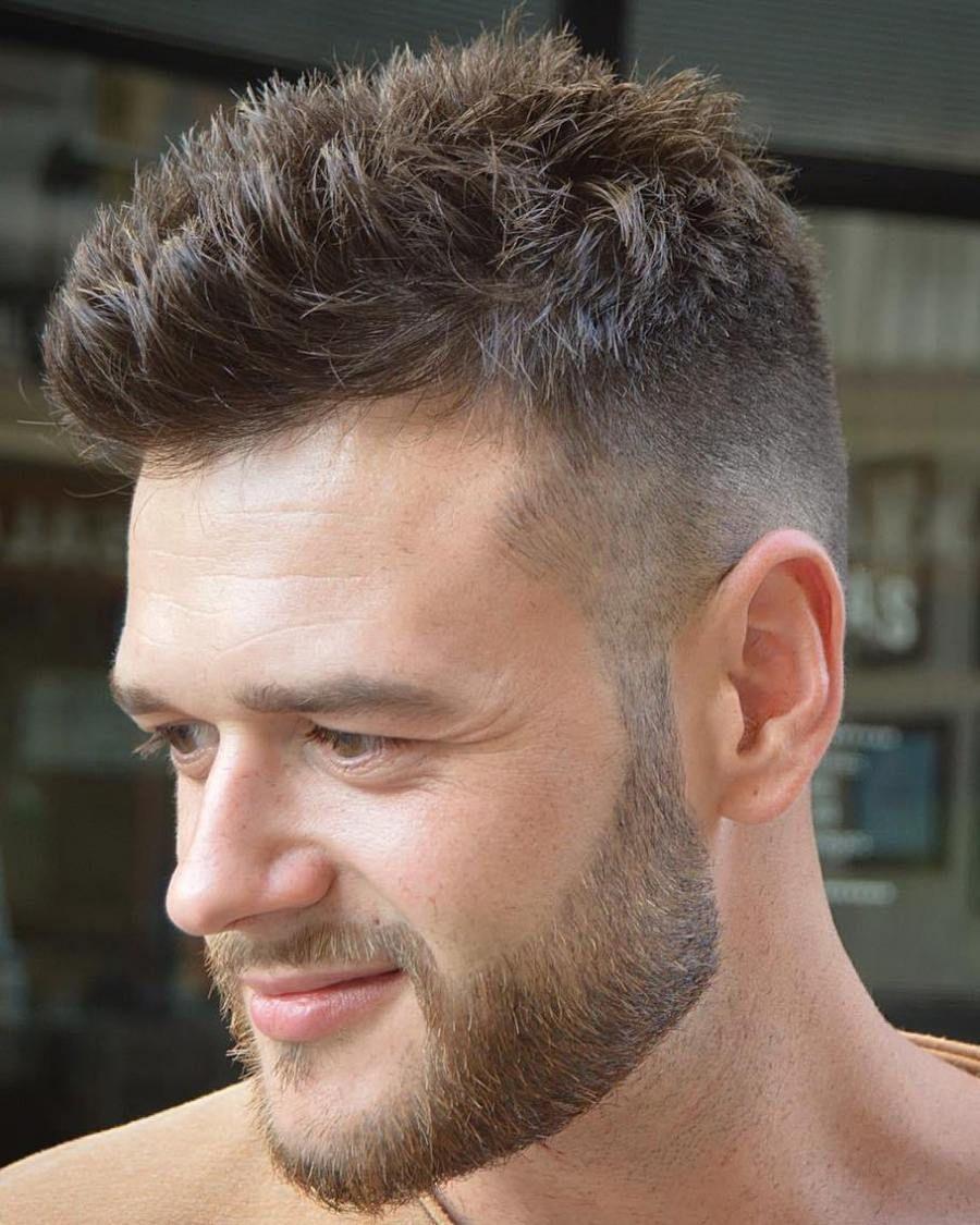 30 Spiky Hairstyles For Men In Modern Interpretation In 2018 Mens