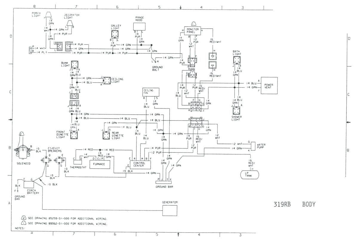Wiring Diagram For Generator On Old Winnebago