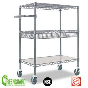 laundry room from costco for 112 99 delivered alera 3 tier black rh pinterest com rolling wire shelves home depot wire rolling shelf cart