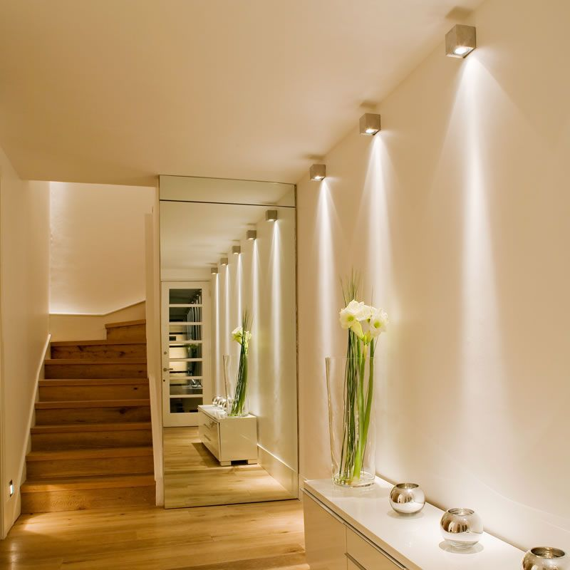 home wall lighting. Metal Cube Wall Light In Hallway John Cullen Lighting With Hall Home I