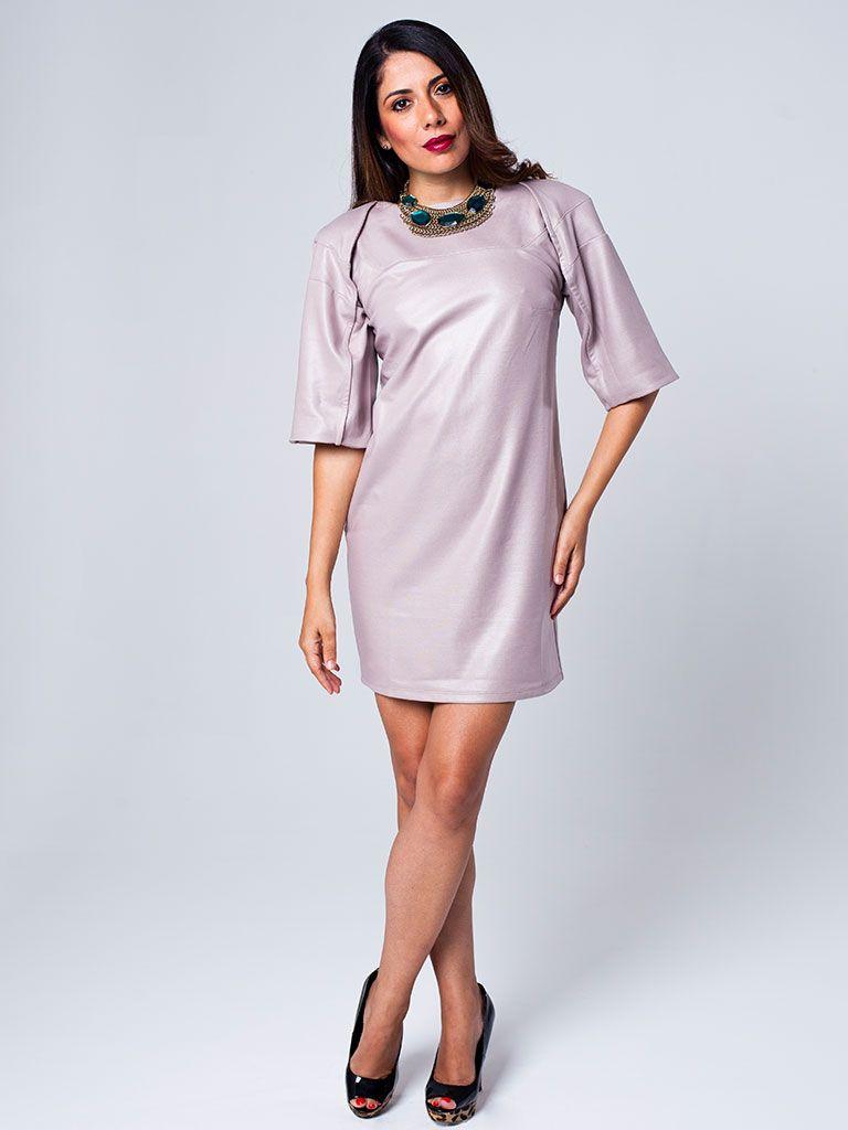 Bodycon Raglan Sleeve Dress by Niche Wear