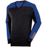 Sunice Golf Joel V-Neck Fashion Golf Sweater Intense Blue