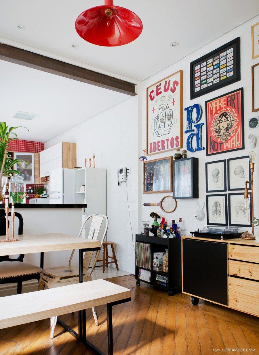 Um Mundo Parte Decora O Sala Jantar Cozinha Americana E Sala  -> Sala E Cozinha Integrada Como Decorar