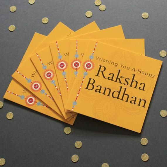 x6 Raksha Bandhan Cards/Decorative/Multipacks #rakshabandhancards