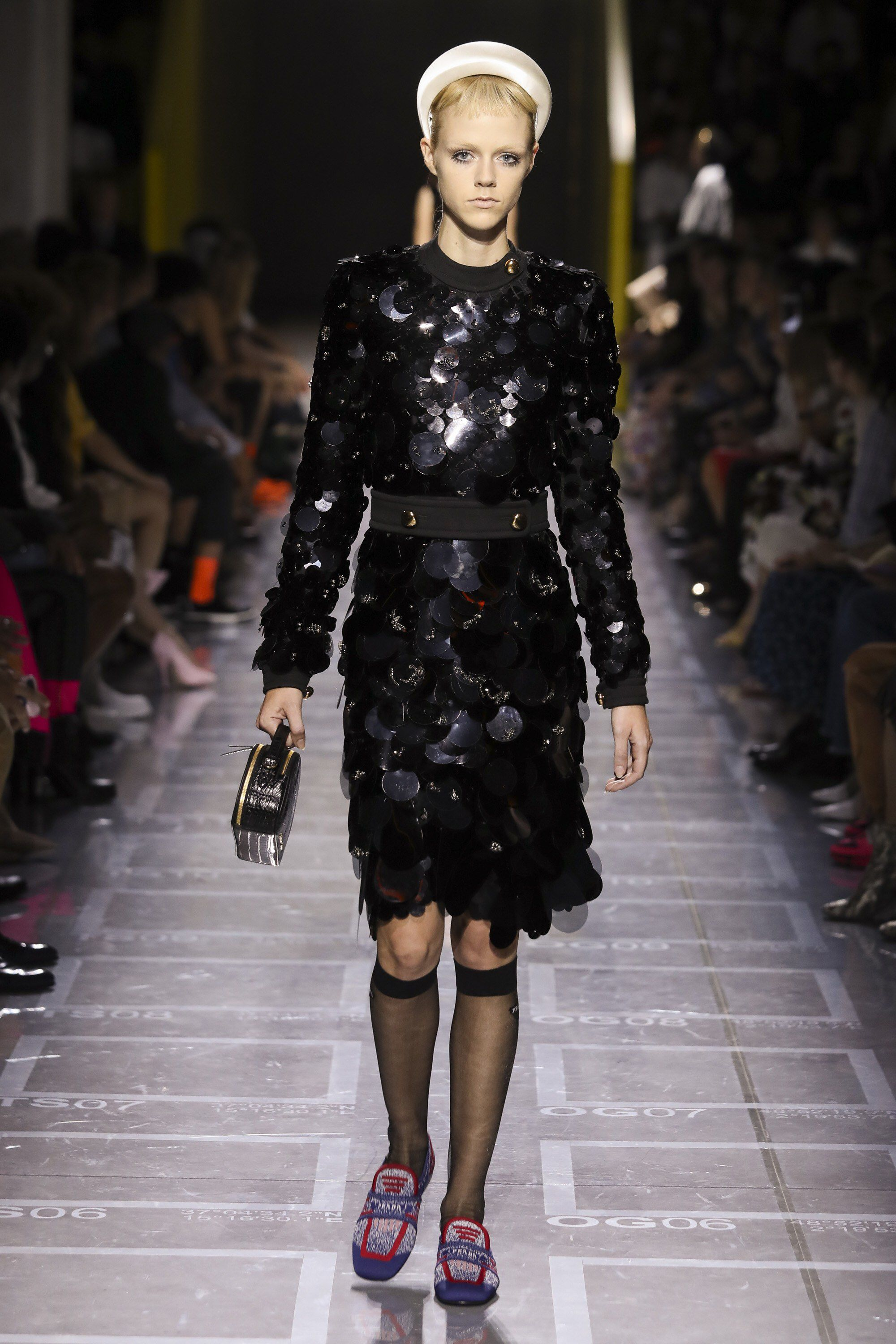 19599ba39bef8 Prada Spring 2019 Ready-to-Wear Fashion Show Collection  See the complete  Prada