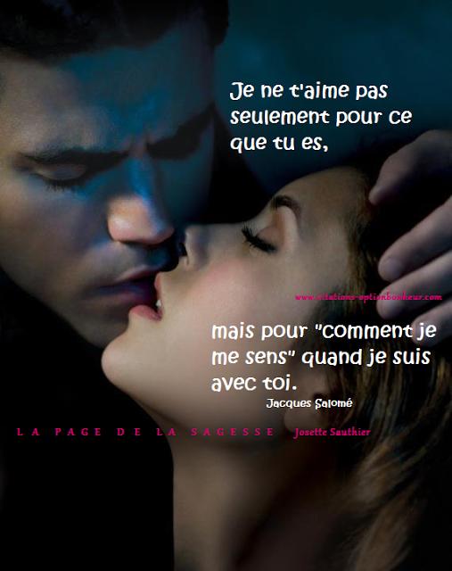 Les Panneaux Roses Citations De Jacques Salome Amour De Vampire Fond D Ecran Vampire Diaries Vampire Diaries