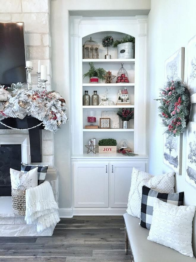 Bookcase Christmas Decor How To Style Your Bookcases For
